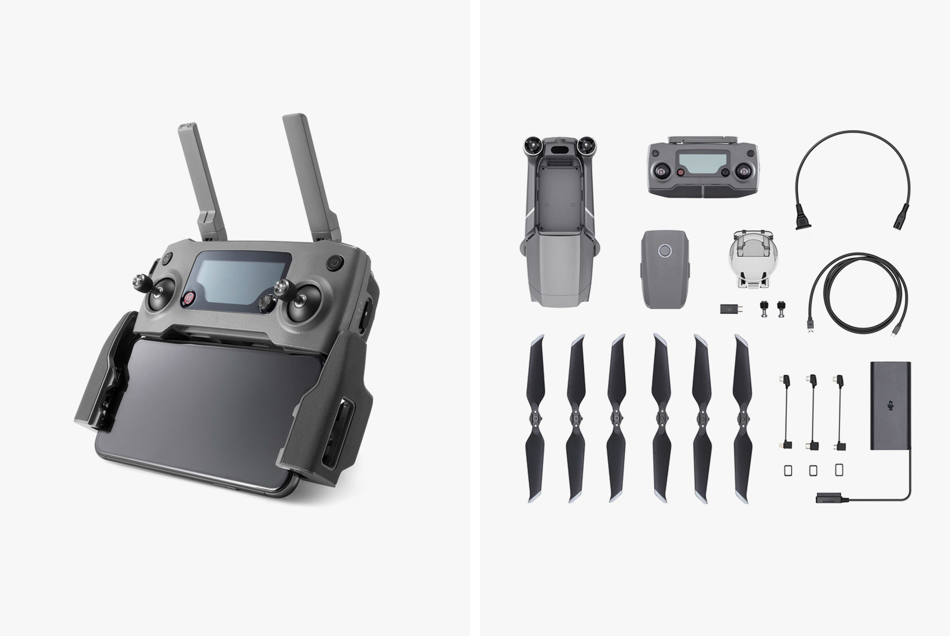 DJI MAVIC 2 ZOOM with 2x Optical ZOOM  12 MP Camera + FLY MORE COMBO KIT
