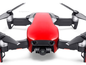 DJI MAVIC AIR FLY MORE COMBO – RED