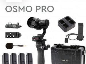 DJI Osmo PRO Combo 4K Camera and 3-Axis Gimbal X5