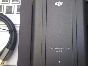 Inspire 2 SSD Cine Station